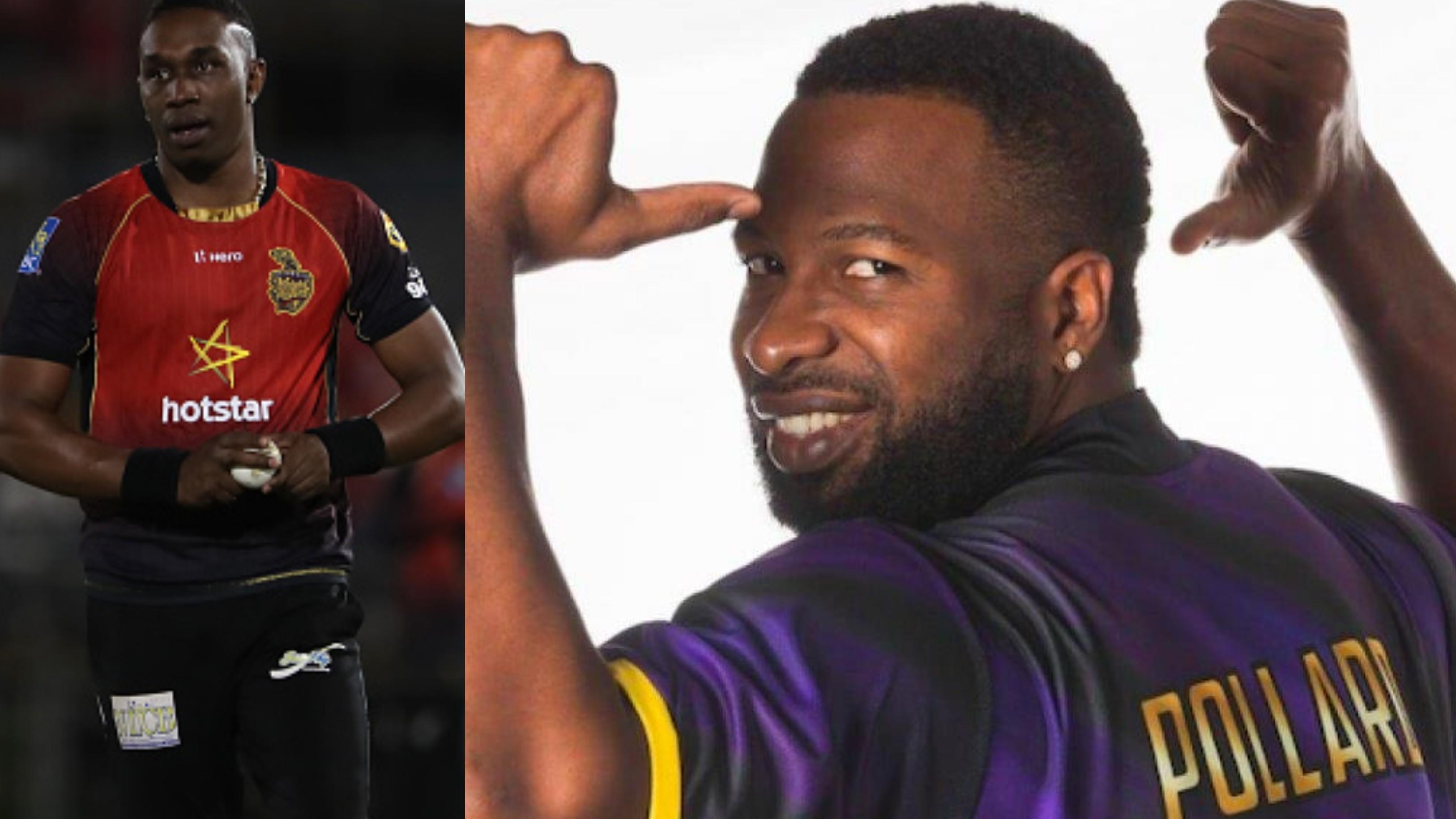 CPL 2019: Trinbago Knight Riders name Kieron Pollard as new captain after Dwayne Bravo suffers an injury