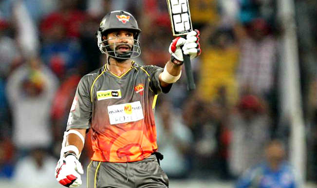 IPL: Sunrisers Hyderabad reveal the reason behind the departure of Shikhar  Dhawan