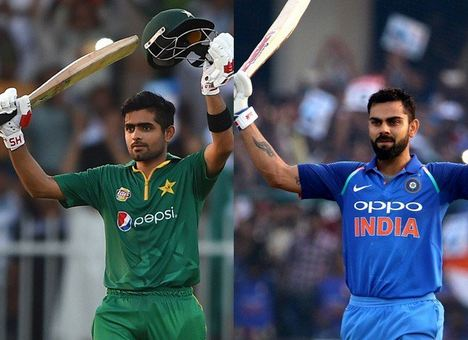 Babar Azam and Virat Kohli | GETTY