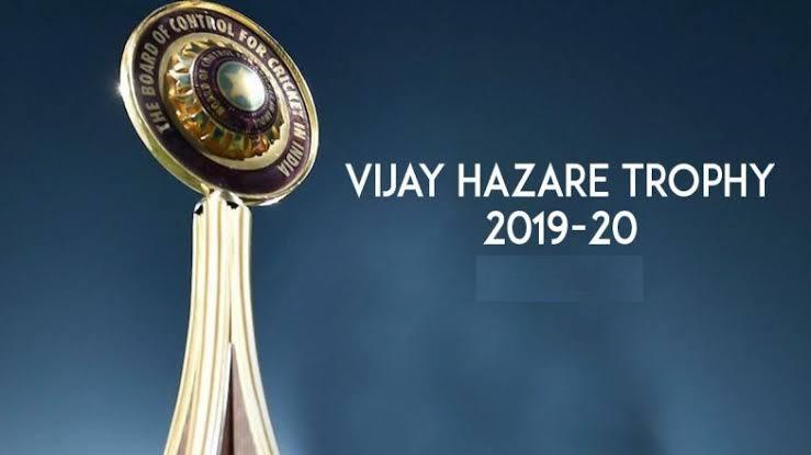 Vijay Hazare Trophy 2019-20