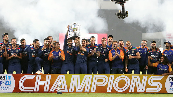 IND v ENG 2021: Team India members tweet in elation after clinching the T20I series 3-2