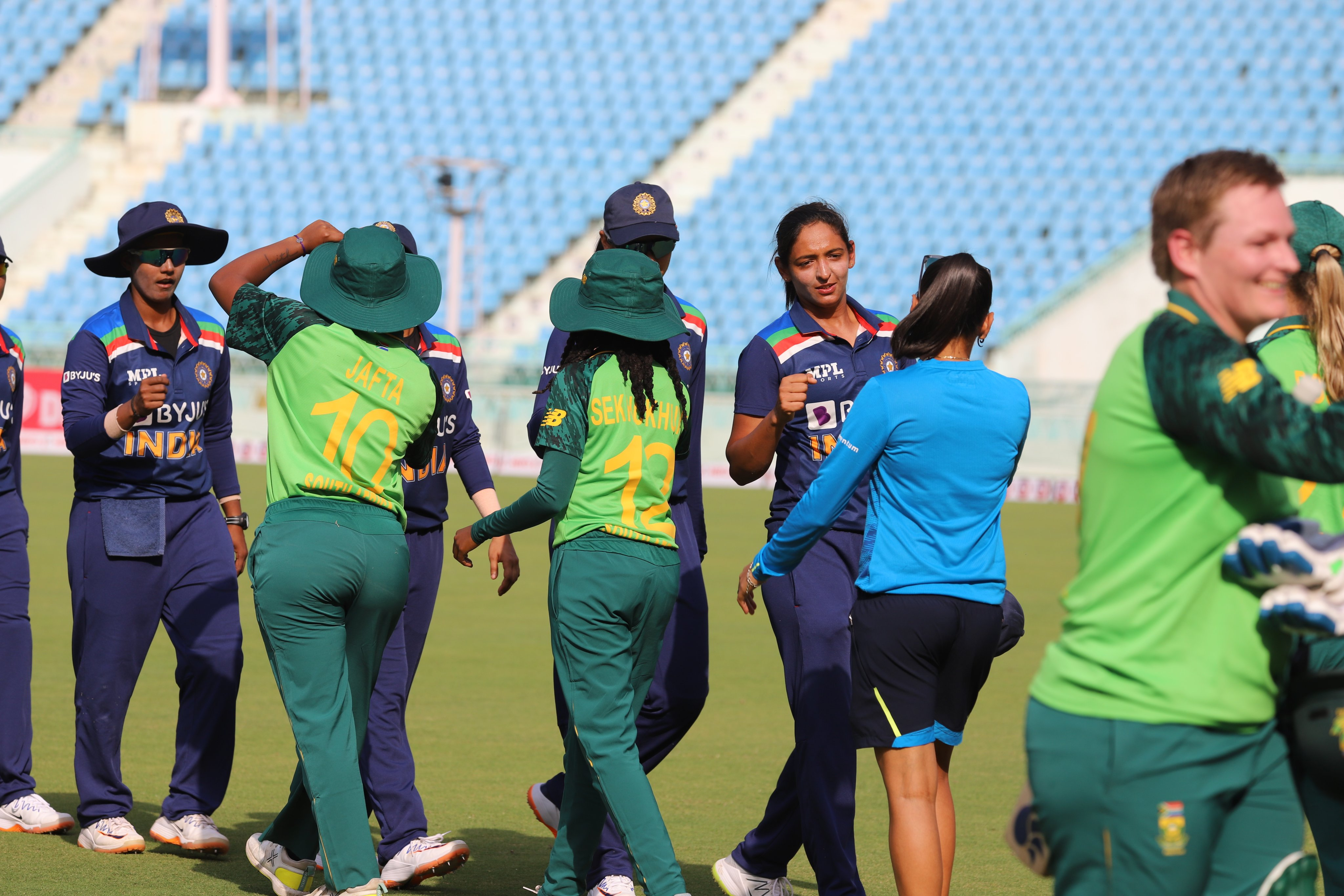 India Women suffered 8-wicket defeat in the first ODI against South Africa   BCCI Women Twitter