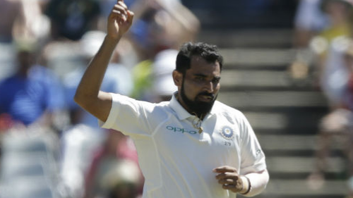 Mohammed Shami takes to Twitter to give an update about his fitness
