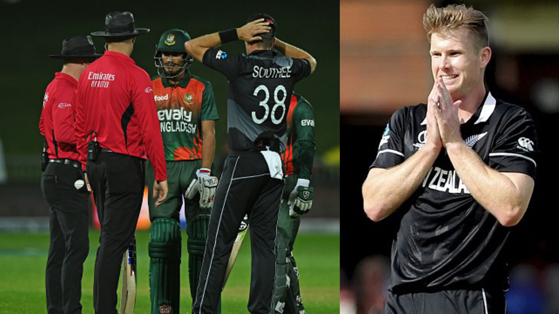 NZ v BAN 2021: How is it possible to start a chase without knowing the target, asks Jimmy Neesham on revised target gaffe