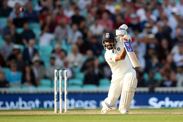 Rahane dismissed for 13 in Adelaide | Getty Images