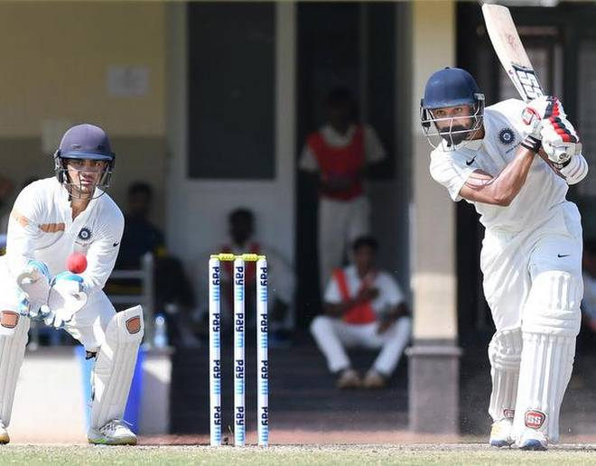 Nikhil Gangta hits a ton in the Duleep trophy final | The Hindu