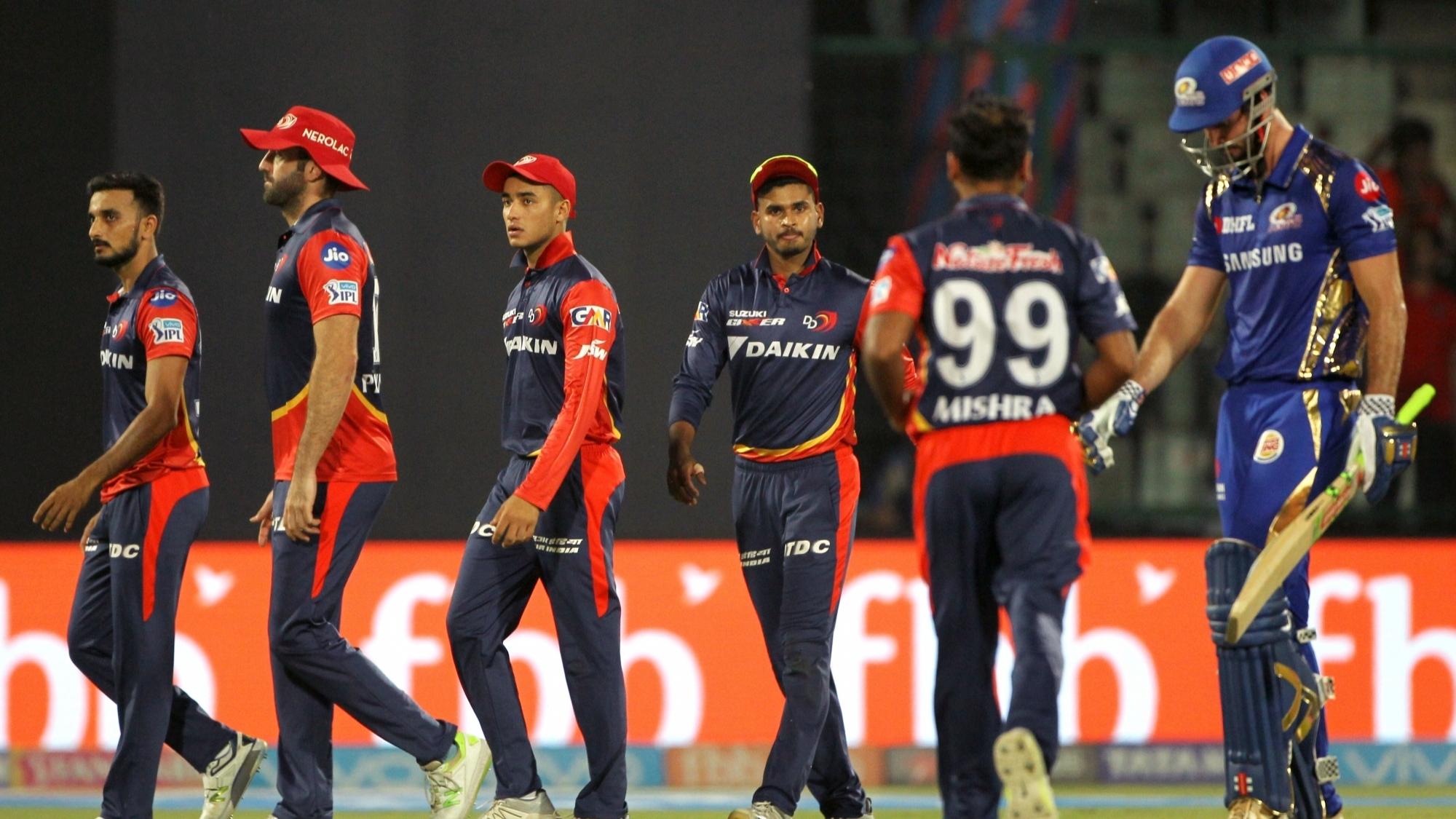 IPL 2018 : Match 55, DD vs MI - Statistical Highlights