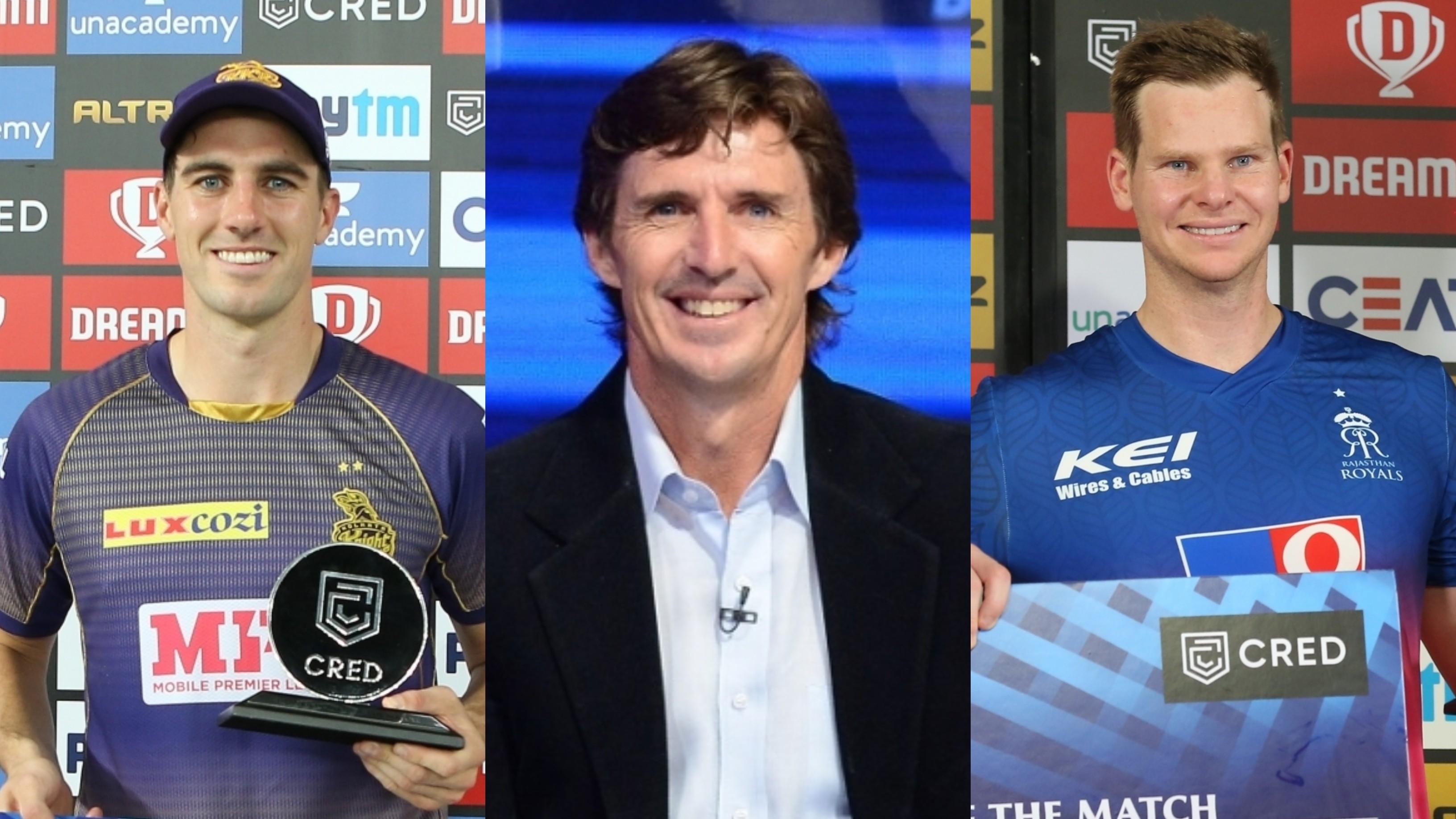 IPL 2020:Pat Cummins made Steve Smith look like a lower-order batsman, says Brad Hogg