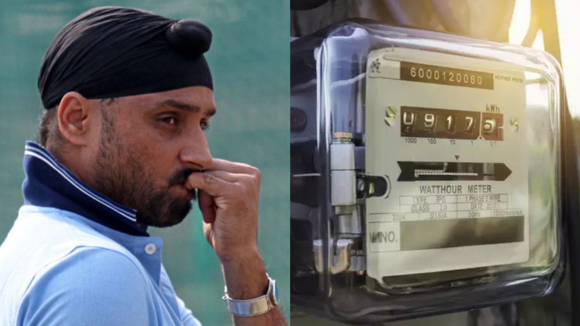 """Poore mohalle ka laga diya kya?,"" Harbhajan Singh asks on receiving 33,900 INR electricity bill"