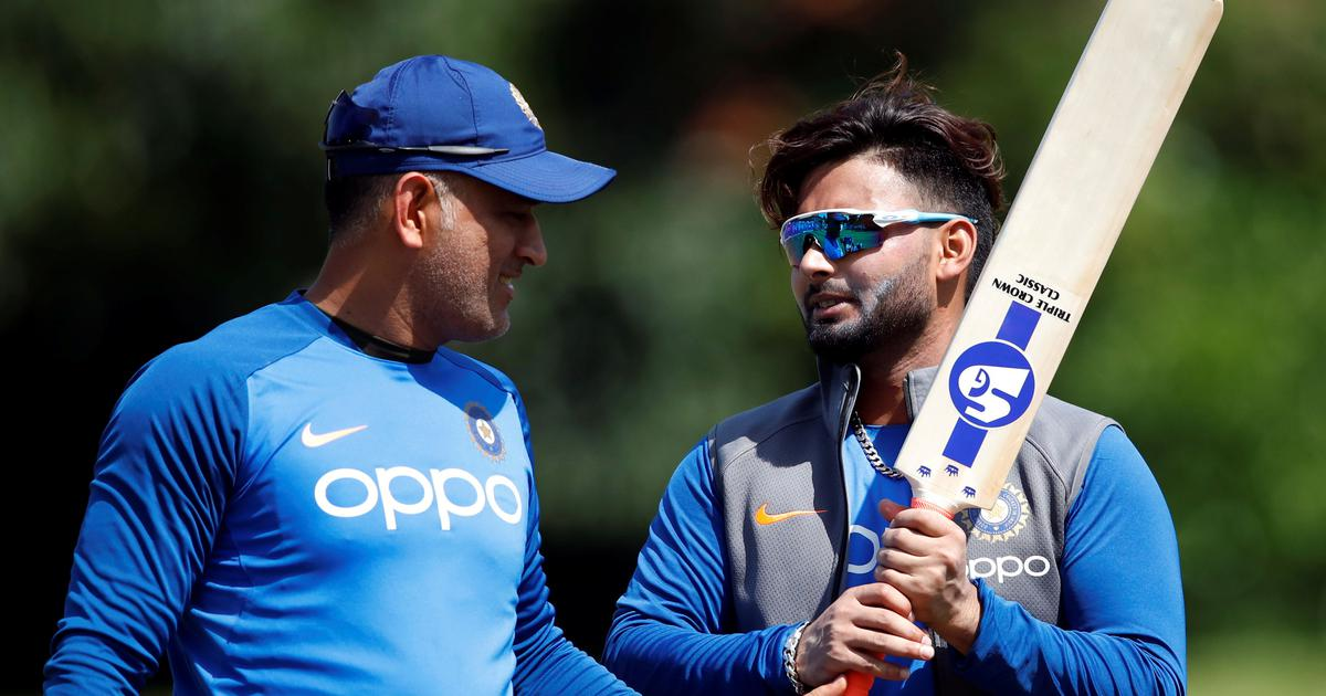 Rohit said that Pant was more than ready to fill Dhoni's shoes   Getty