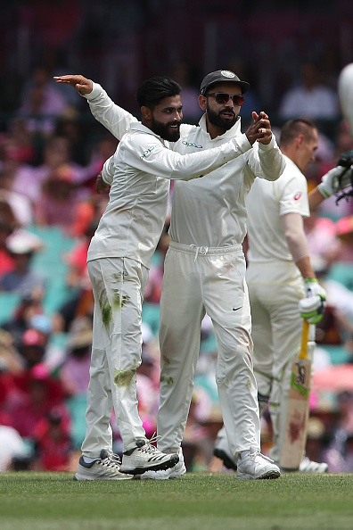 Ravindra Jadeja kept the runs down and picked two wickets | Getty
