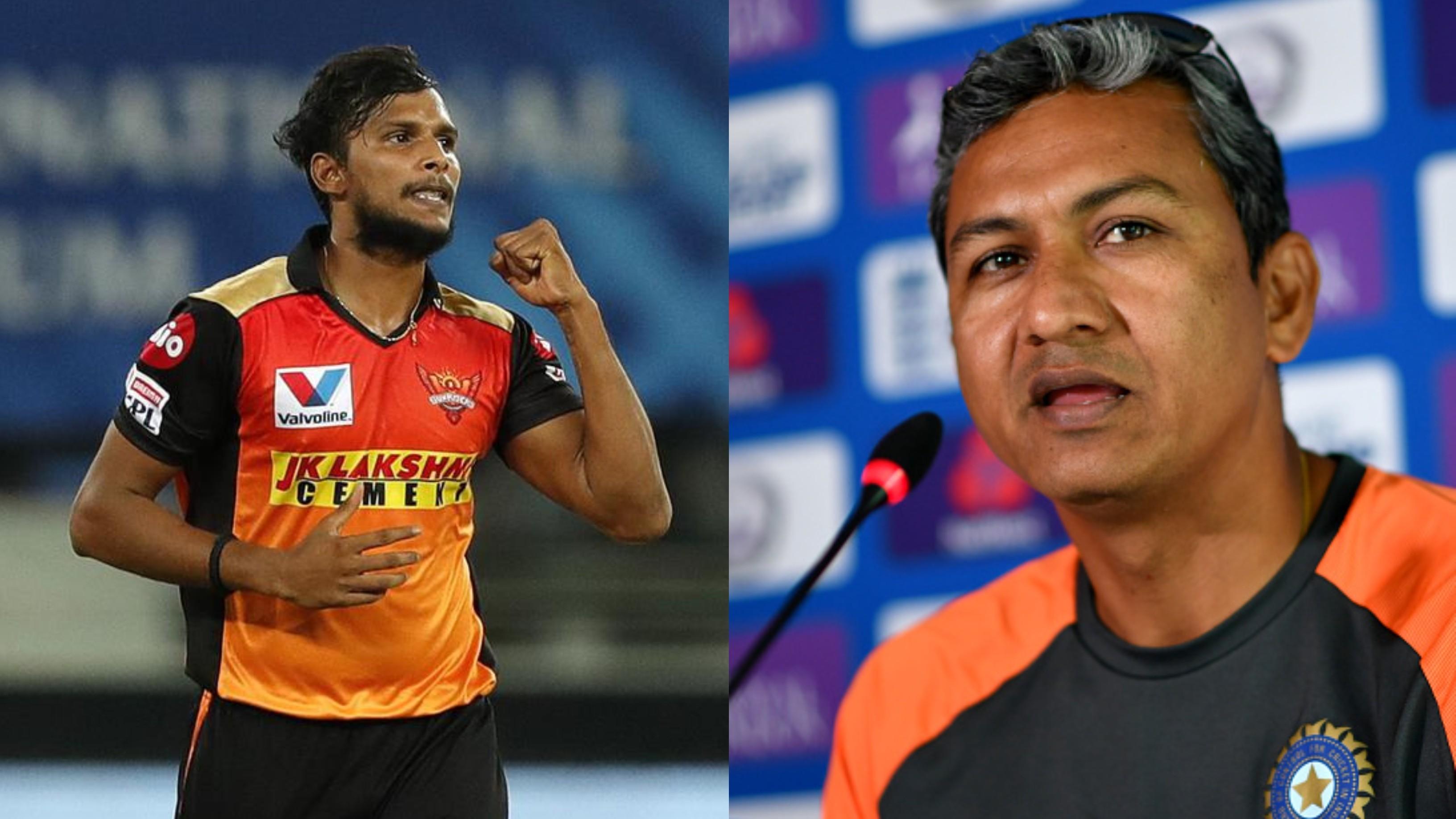 IPL 2020: Sanjay Bangar praises SRH's new yorker specialist T Natarajan
