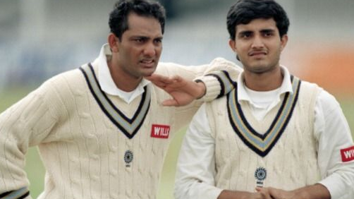 Sourav Ganguly says he was lucky enough to play with talents like Azharuddin and Sachin Tendulkar