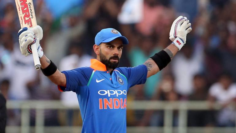 Virat Kohli smashed his 37th ODI hundred during the second ODI against West Indies | AFP