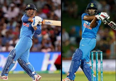 Ambati Rayudu and MS Dhoni at no.4 and no.5 are the best bets in the middle order for India
