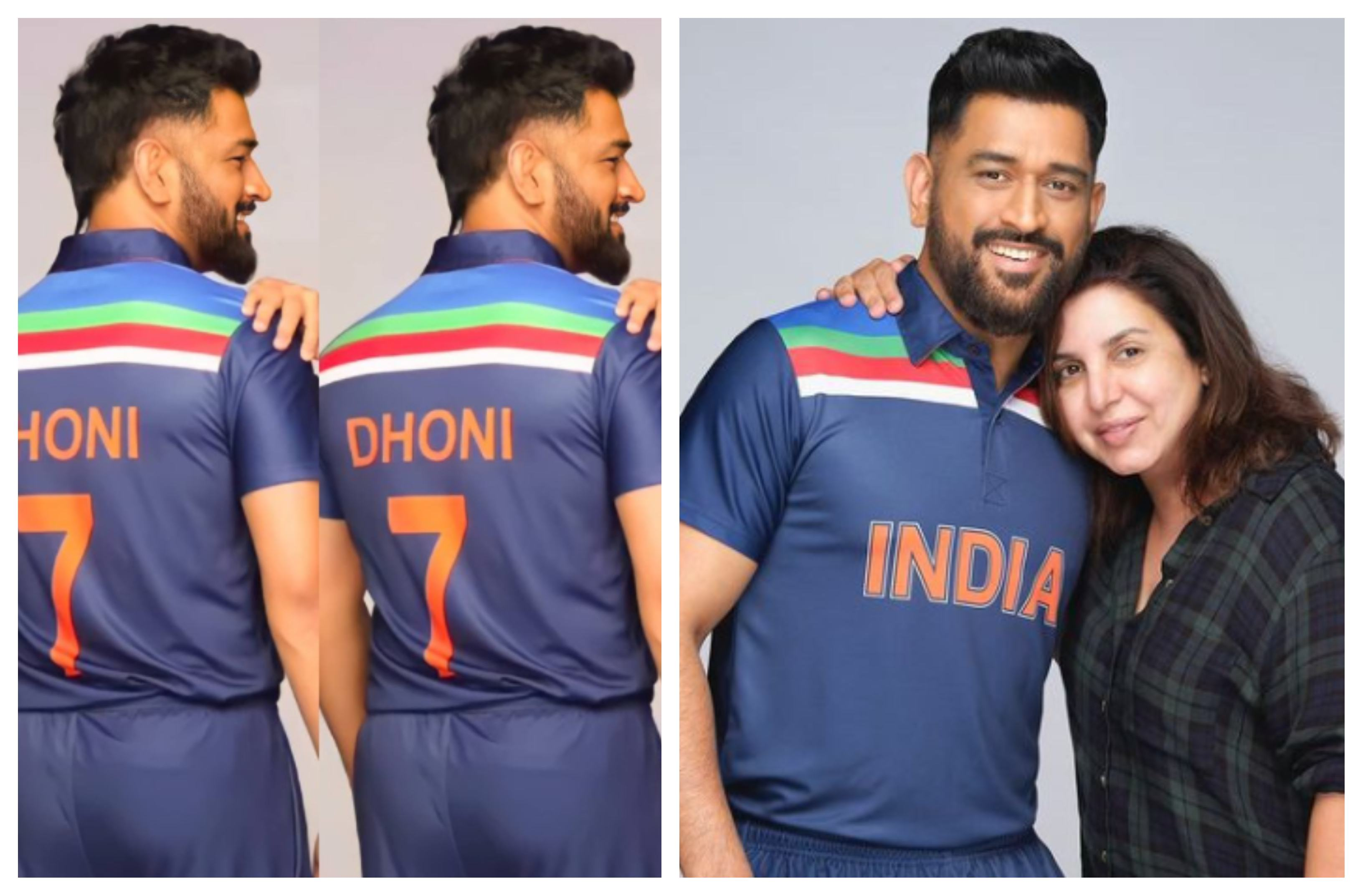 MS Dhoni during an advertisement shoot | Instagram