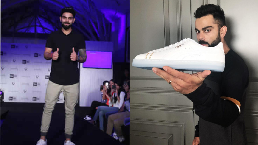 5f6269a9afbbf0 Virat Kohli launches self-designed sneakers in association with PUMA