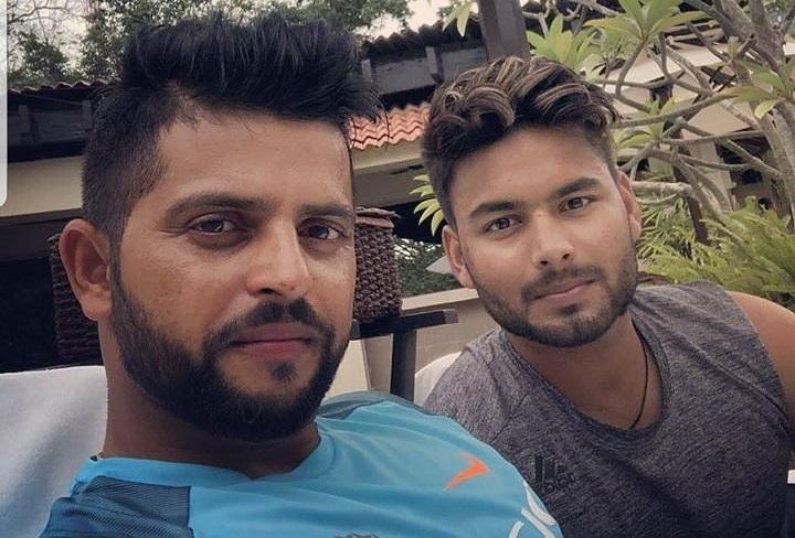 Rishabh Pant and Suresh Raina | Instagram
