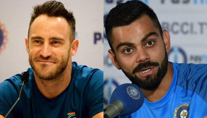 SA v IND 2018: Virat Kohli and Faf du Plessis agree on bowler-friendly pitches