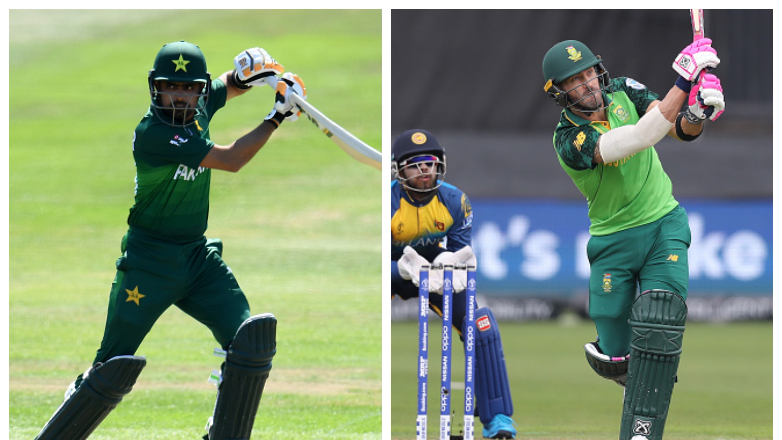 CWC 2019: Babar Azam's 112 powers Pakistan to 262, South Africa smash 338/7 versus Sri Lanka