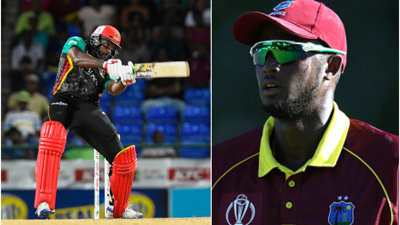 Jason Holder says Chris Gayle isn't out of contention for World Cup if he is fit