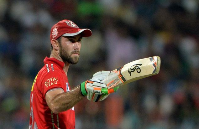 Glenn Maxwell played four years for KXIP | SourceGetty