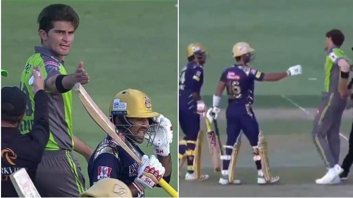PSL 6: WATCH - Shaheen Afridi hits Sarfaraz Ahmed on helmet with a bouncer; argument ensues