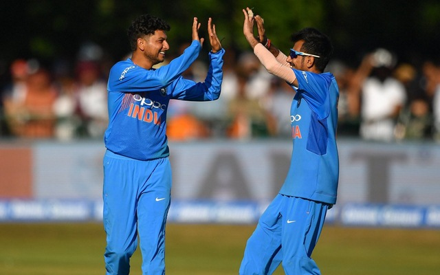 Kuldeep Yadav and Yuzvendra Chahal made Ireland batsmen look clueless against spin. (Twitter)