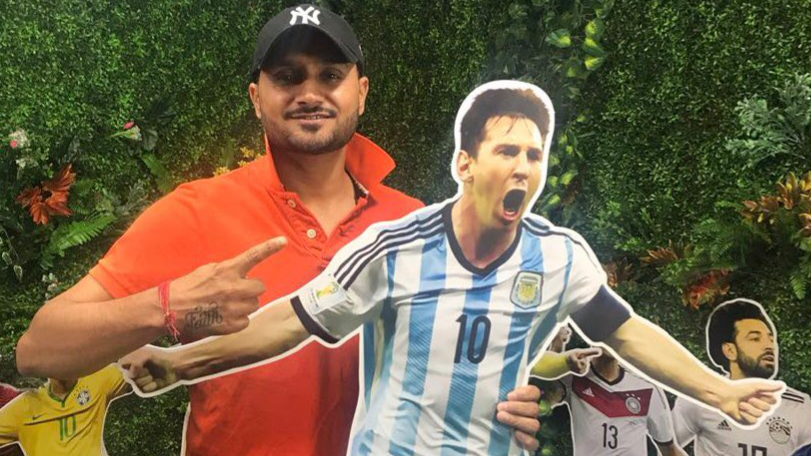 Harbhajan Singh is ready for sleepless nights because of Lionel Messi