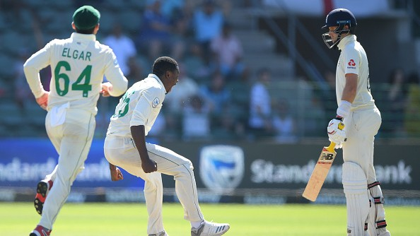 SA v ENG 2020: Rabada banned for Jo'burg Test after angry wicket celebration