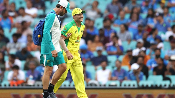 AUS v IND 2020-21: Groin injury rules David Warner out of third ODI and T20I series
