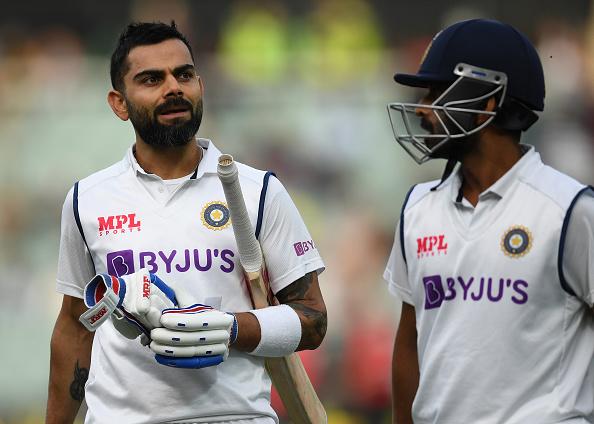 Ajinkya Rahane and Virat Kohli | GETTY