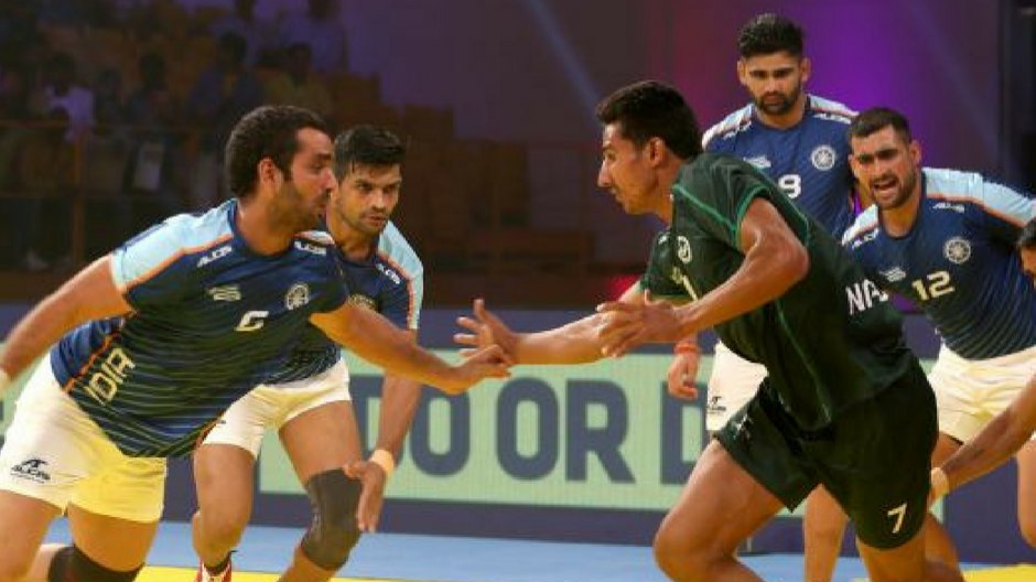 Ecstatic Indian cricketers expressed their happiness after India Kabaddi team beats Pakistan again