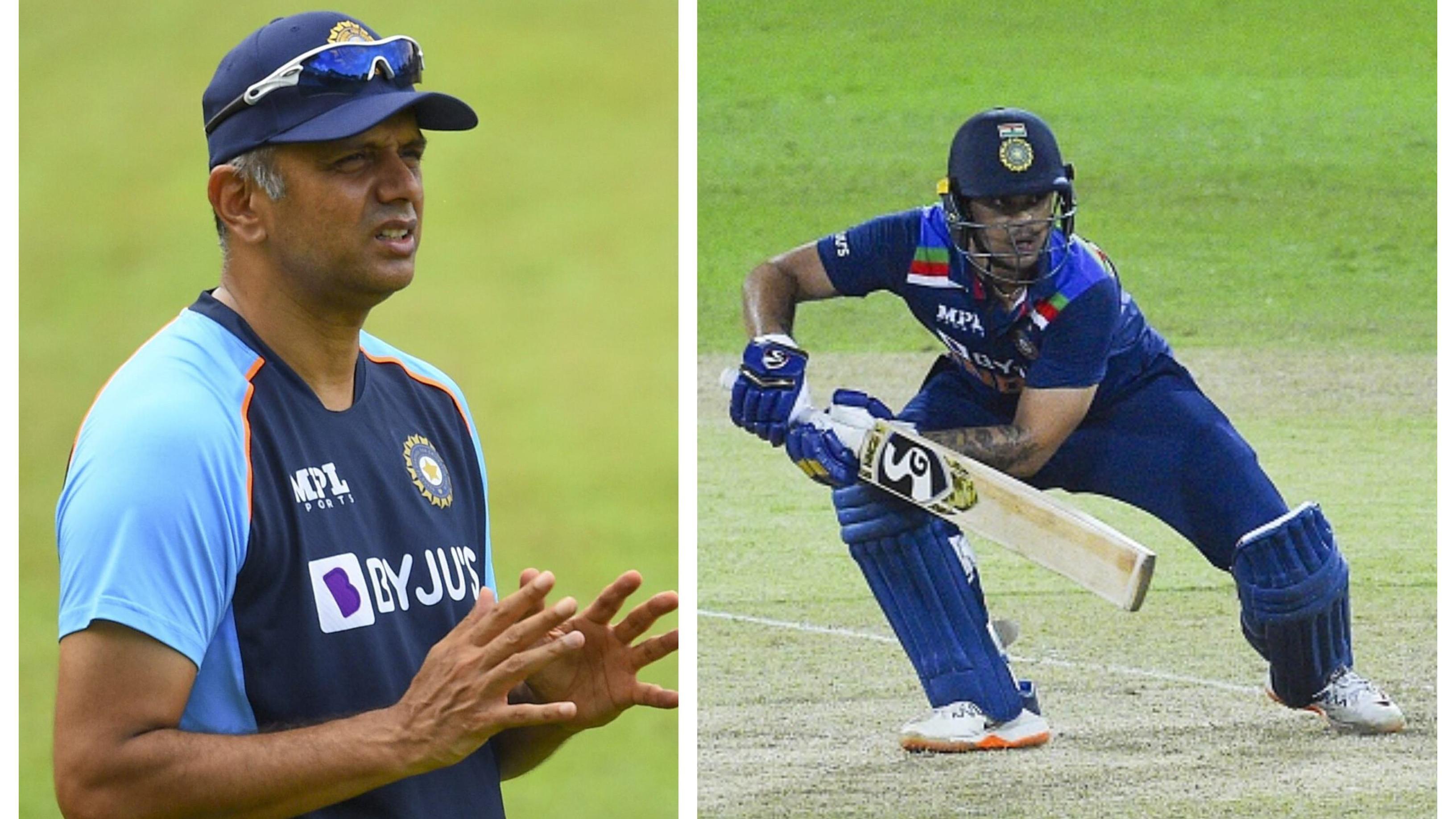 SL v IND 2021: 'Dravid Sir had told me during the practice sessions that I will bat at No.3', says Ishan Kishan