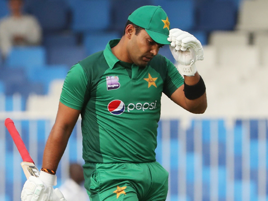Umar is currently out of Pakistan side | AFP