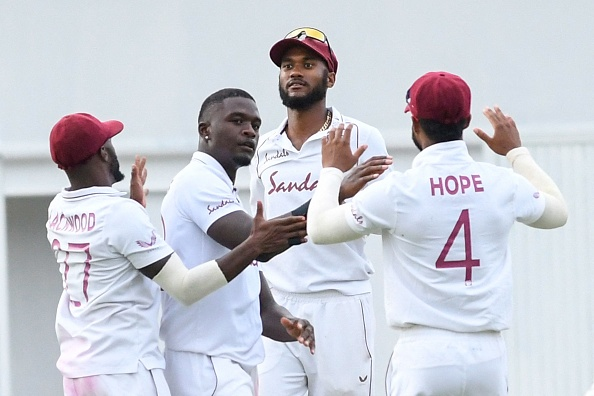 Jayden Seales took 3 wickets against South Africa | Twitter