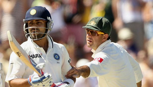 Ricky Ponting stops Virat Kohli from getting into an altercation | Getty File Photo