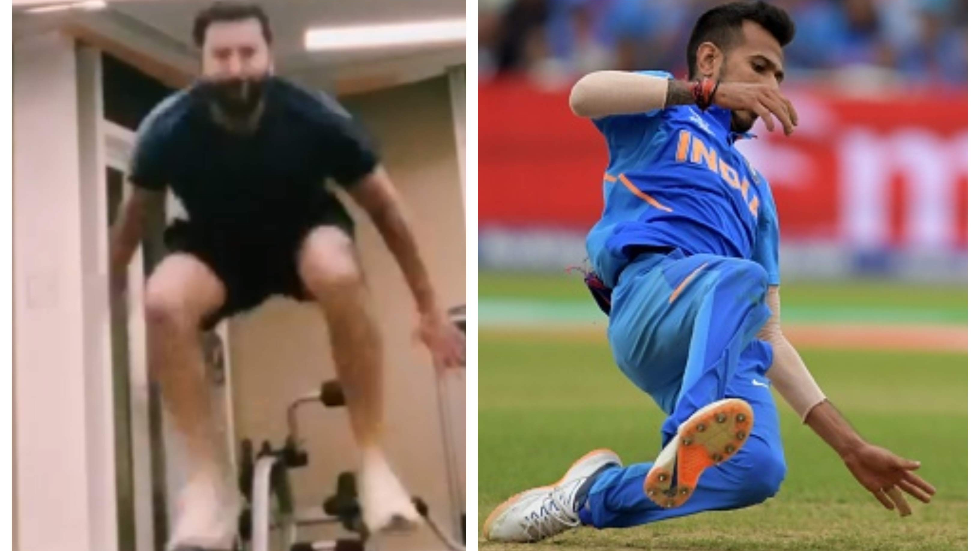 'That's my little boy Chahal when he is fielding': Rohit shares hilarious post on Instagram