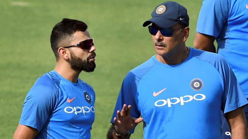 Ganguly asked Virat to give long run to players and for Shastri to step back | AFP