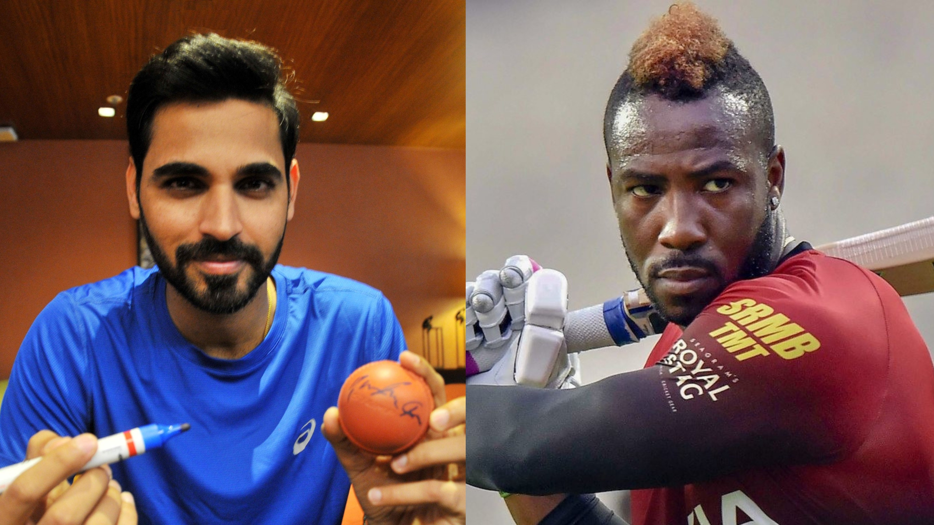 Luck matters the most while bowling to Andre Russell, says Bhuvneshwar Kumar