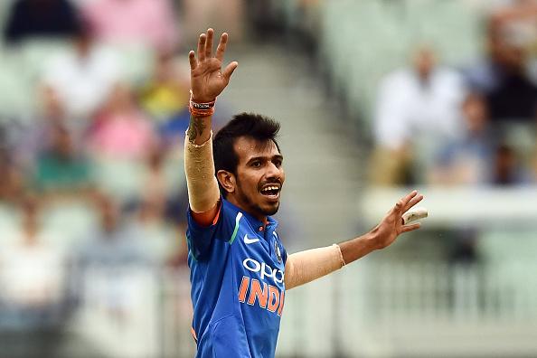 Chahal won the Man of Match award | Getty