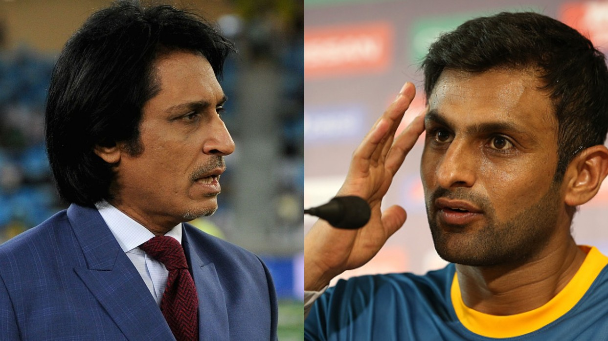 Ramiz Raja and Shoaib Malik engage in heated banter after former's 'retire gracefully' comment