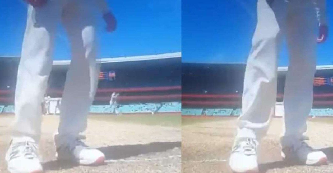Steve Smith remove the guard of India's Rishabh Pant at SCG   Twitter