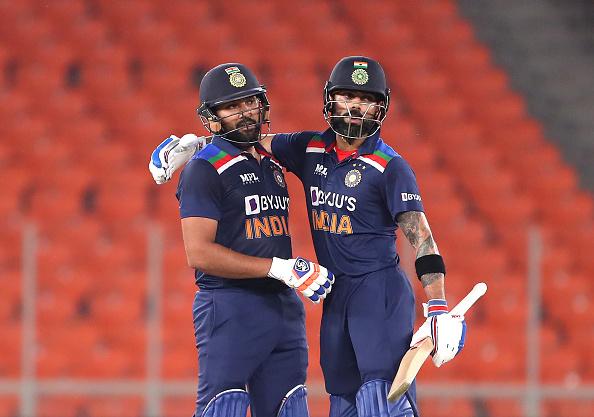 Virat Kohli and Rohit Sharma   Getty