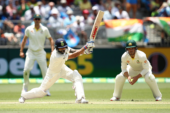 Virat Kohli cracked his 25th Test hundred in Perth | Getty Images