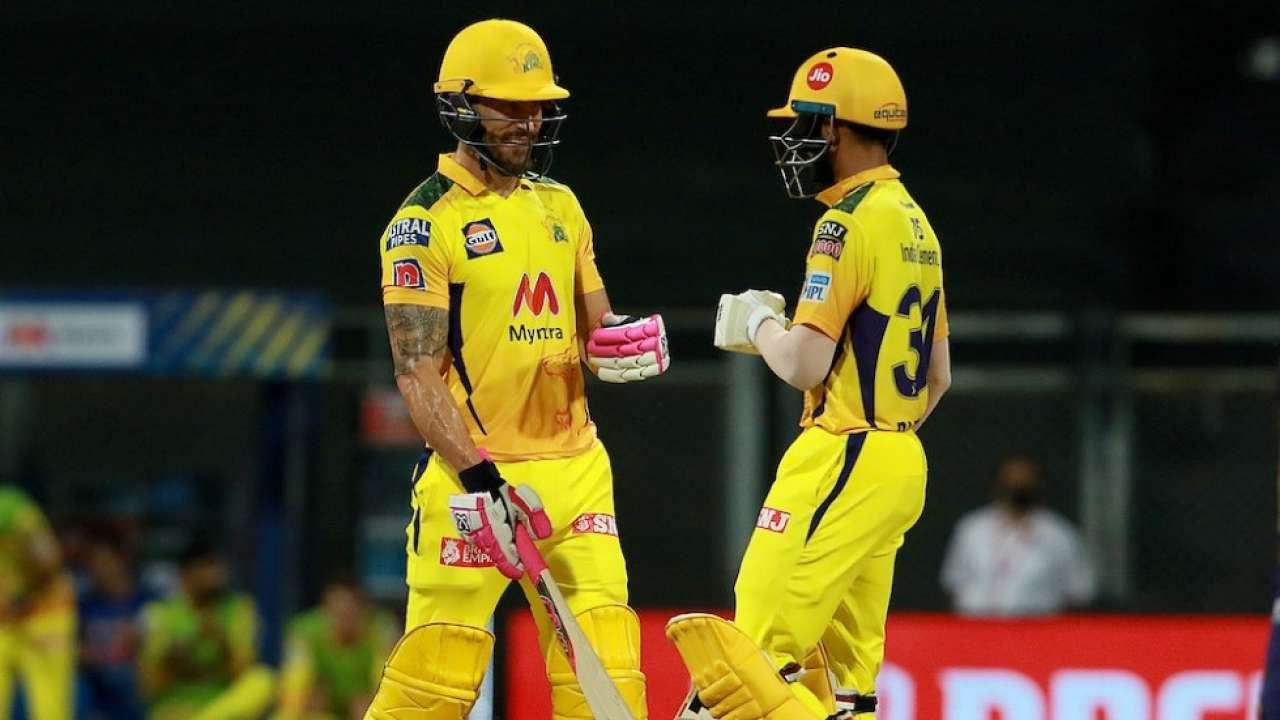 Faf du Plessis and Ruturaj Gaikwad   BCCI-IPL