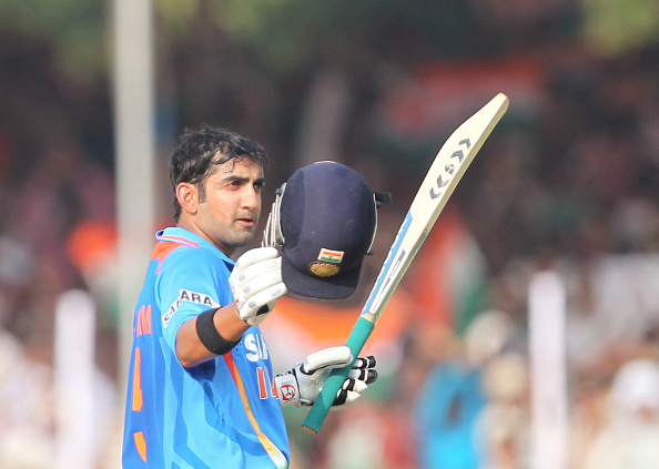 Gautam Gambhir has 10,324 international runs to his name | Getty Images