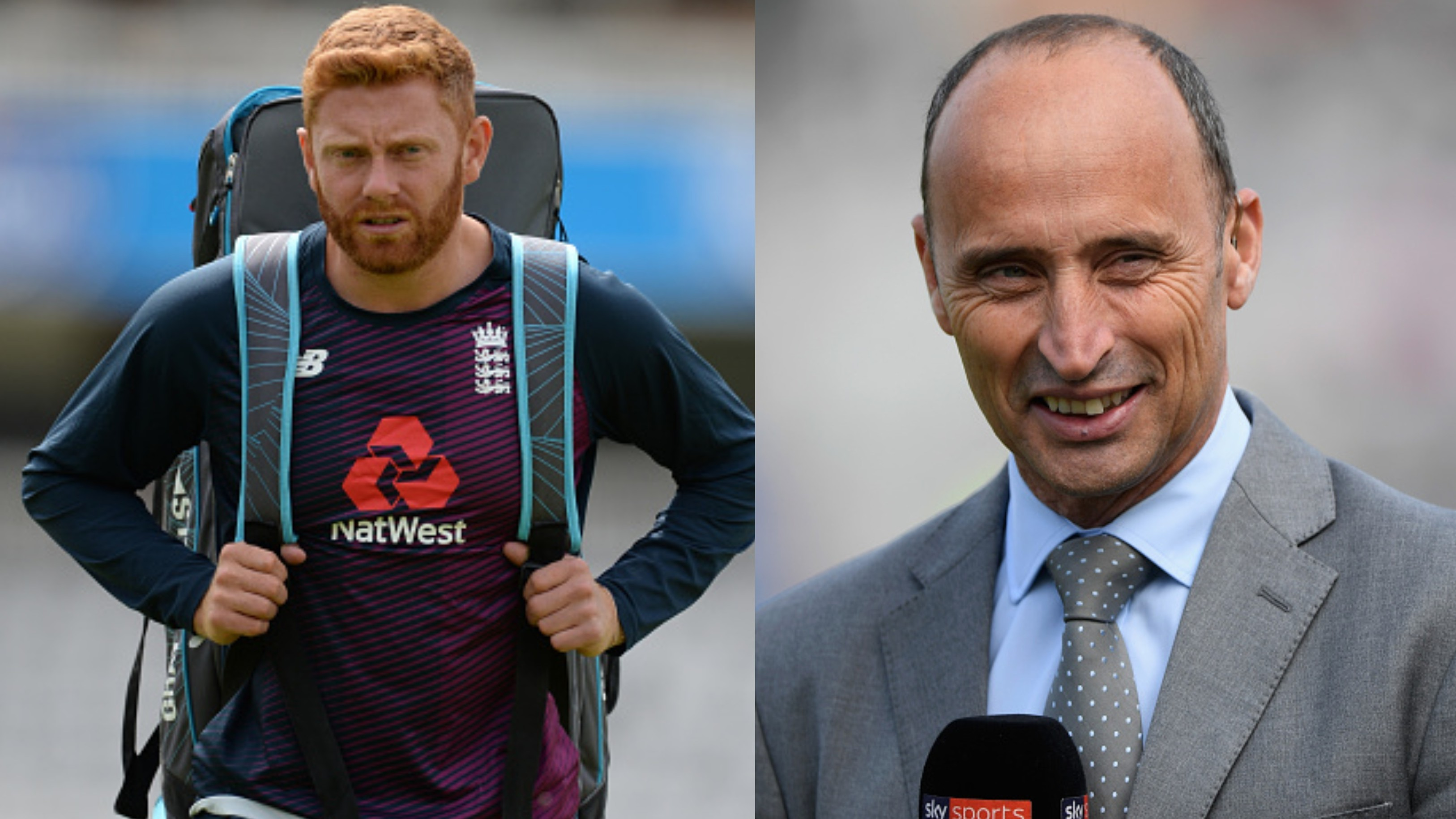 Ashes 2019: Struggling Jonny Bairstow gets backing from Nasser Hussain ahead of Lord's Test