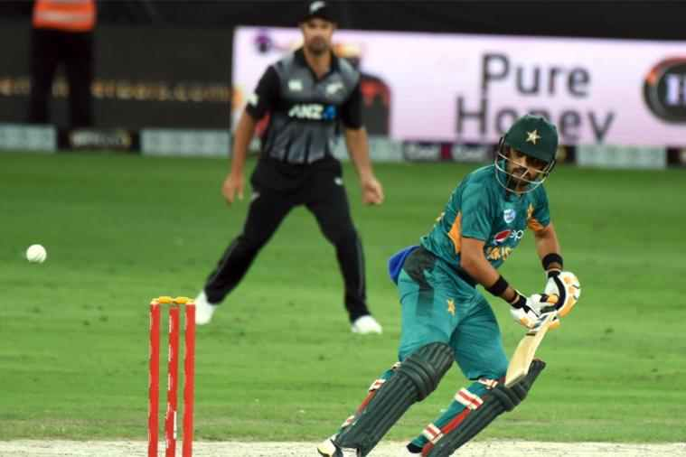 Azam scored brilliant 79 off 58 deliveries against New Zealand in the third T20Is | AFP