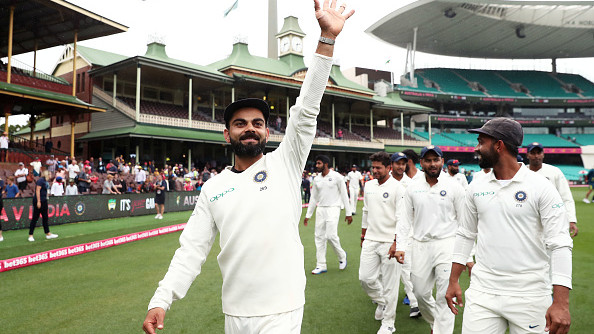 AUS v IND 2018-19: WATCH: Virat Kohli and co. celebrates the series win in style; players go crazy in dressing room